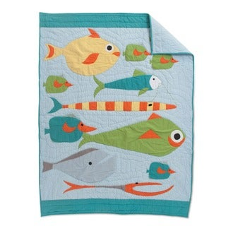 Cottage Home Finding Fisher Crib Quilt
