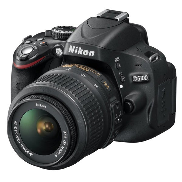 Nikon D5100 Digital SLR Camera with 18-55mm VR Lens- (Refurbished)