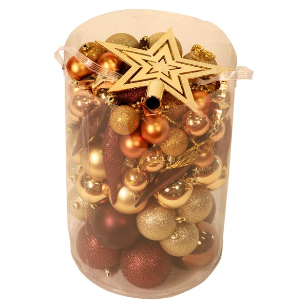 100-Piece Christmas Ornament Kit