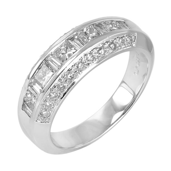 14k White Gold 2 1/2ct TDW Diamond Ring (G-H, SI1-SI2)