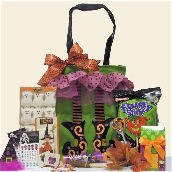 Sparkly & Spooky Fun Halloween Gift Basket for Tween Girl