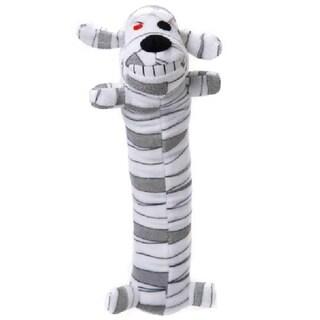 Loofa Dog Halloween 18-inch Plush Mummy Dog Toy
