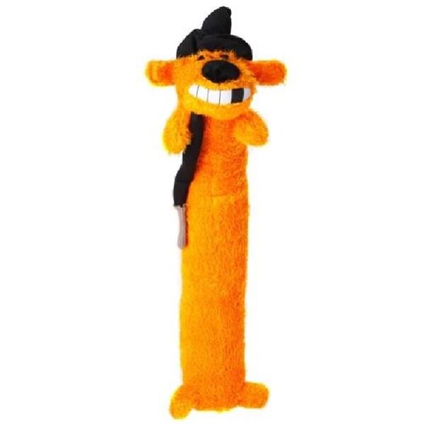 Loofa Dog Halloween 18-inch Plush Witch Dog Toy