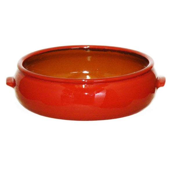 Terafeu French Refractory Clay 'Cazuela' Round 4.5 Quart Baker