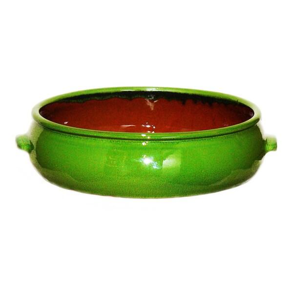 Terafeu French Refractory Clay 4.5 Quart 'Cazuela' Round Baker