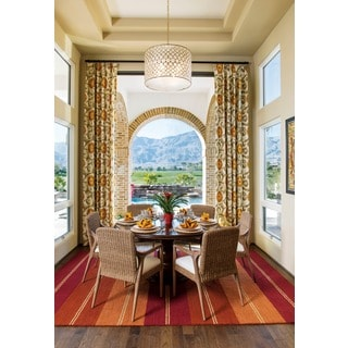 Barclay Butera Oxford Sunset Beach Area Rug by Nourison (5'3 x 7'5)