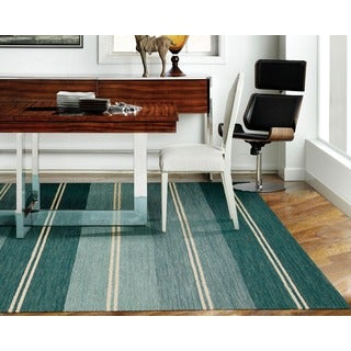 Barclay Butera Oxford Seaglass Area Rug by Nourison (5'3 x 7'5)