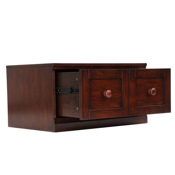 'Makena' Chestnut Grove 1-drawer Modular Storage Base