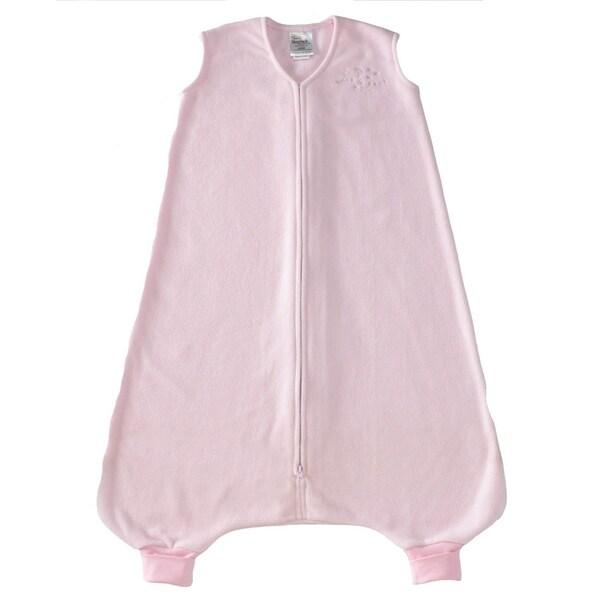 Halo Early Walker Soft Pink SleepSack Wearable Micro-Fleece Blanket