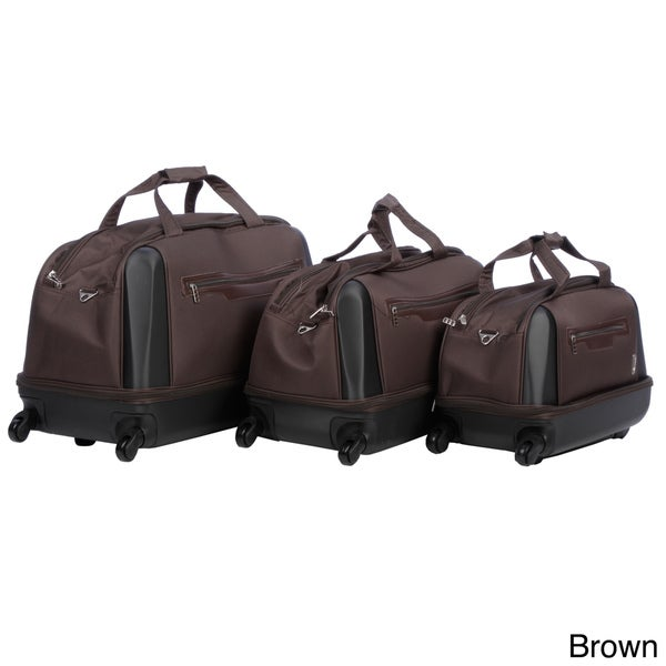 Travel Concepts by Heys 'Classico' 3-piece Hybrid Upright Duffel Bag Luggage Set