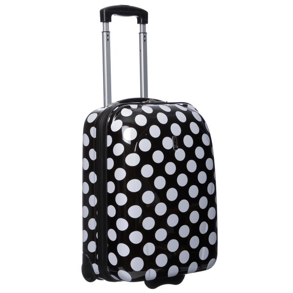 Travel Concepts by Heys Polka-dot 20-inch Carry On Upright Suitcase