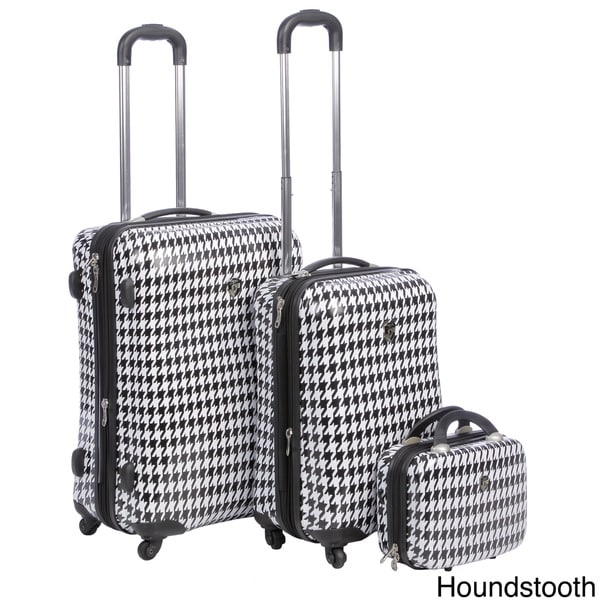 Heys USA Exotic 3-piece Hardside Spinner Luggage Set