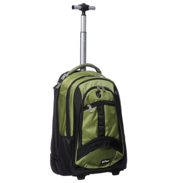Heys USA Green ePac Rolling Backpack