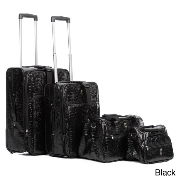Travel Concepts by Heys Giana Croco 4-piece Luggage Set