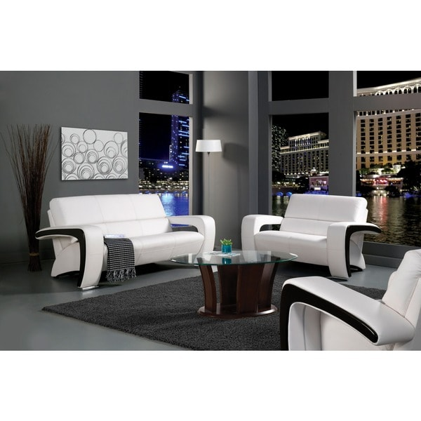 Furniture of America Two-piece Sofa and Loveseat Set