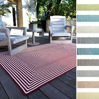Hand-braided Cromwell Indoor/Outdoor Rug (3'6 x 5'6) - 3'6 x 5'6
