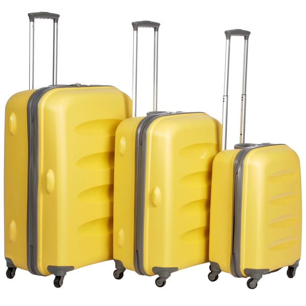 Heys USA Apollo 3-piece Hardside Spinner Luggage Set