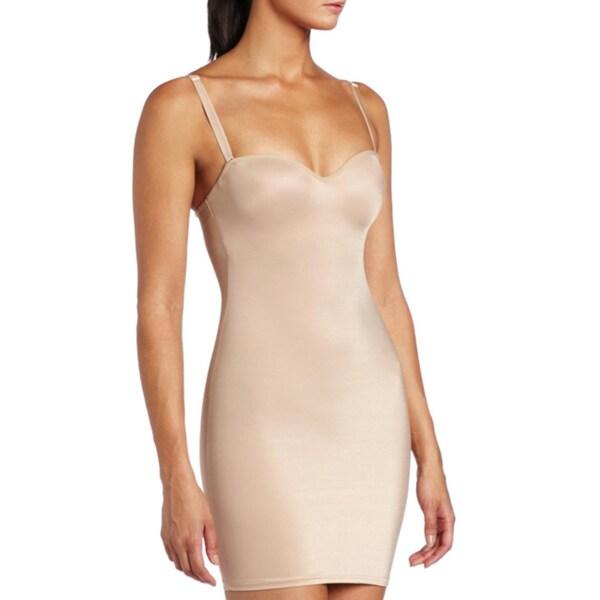 Stanzino Women's Nude Body Slimmer Slip