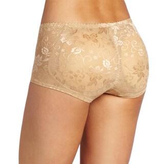 Stanzino Women's Nude Lace Detailed Girdle Boyshorts