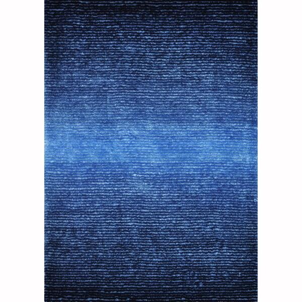 Hand-tufted Josephine Blue Rug (7'9 x 9'9)
