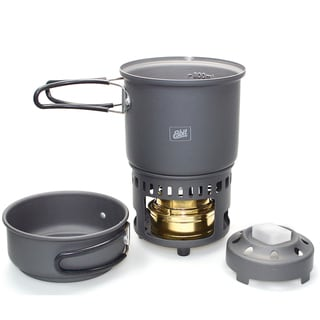 Industrial Revolution 'Esbit' Alcohol Stove and Trekking Cookset
