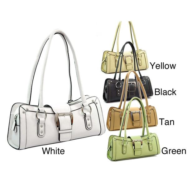Dasein Belted Zipper Shoulder Bag