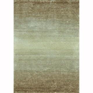 Hand-tufted Josephine Beige Rug (3'6 x 5'6)