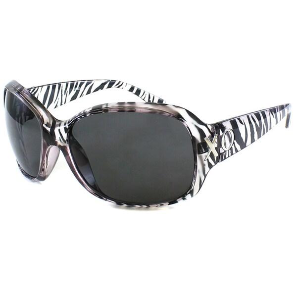 XOXO Women's Hampton Bays Zebra Sunglasses