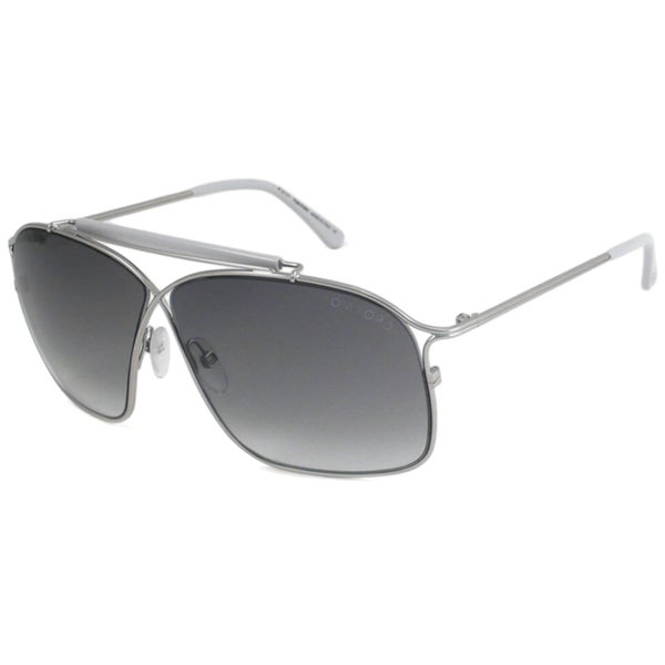 Tom Ford TF194 Felix Silver Aviator Sunglasses