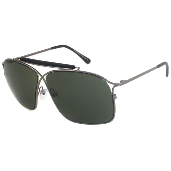 Tom Ford Women's TF194 Felix Gunmetal Aviator Sunglasses