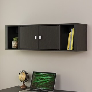 SOHO Washed Ebony Floating Hutch