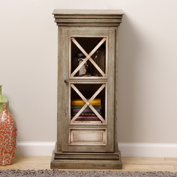 Handmade Antique-Style Display Cabinet (Indonesia)