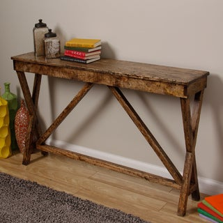 Handmade Mongolian Console Table (Indonesia)
