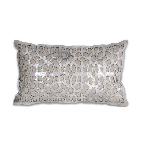 Chaunce Leather 12x20-inch Pillow
