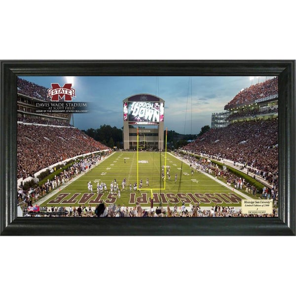 Officially Licensed Highland Mint College Gridiron Panoramic Frames