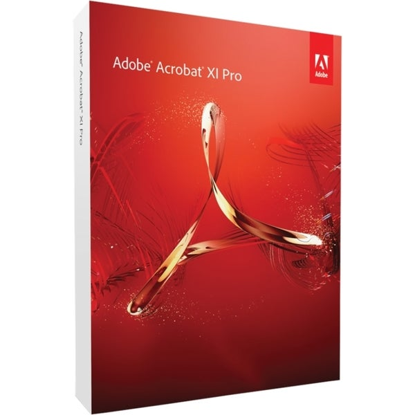 Adobe Acrobat v.XI Pro - Complete Product - 1 User - Standard
