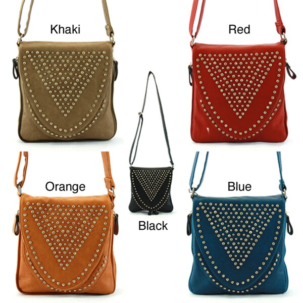 Perfect Image Rhinestone Crossbody Bag