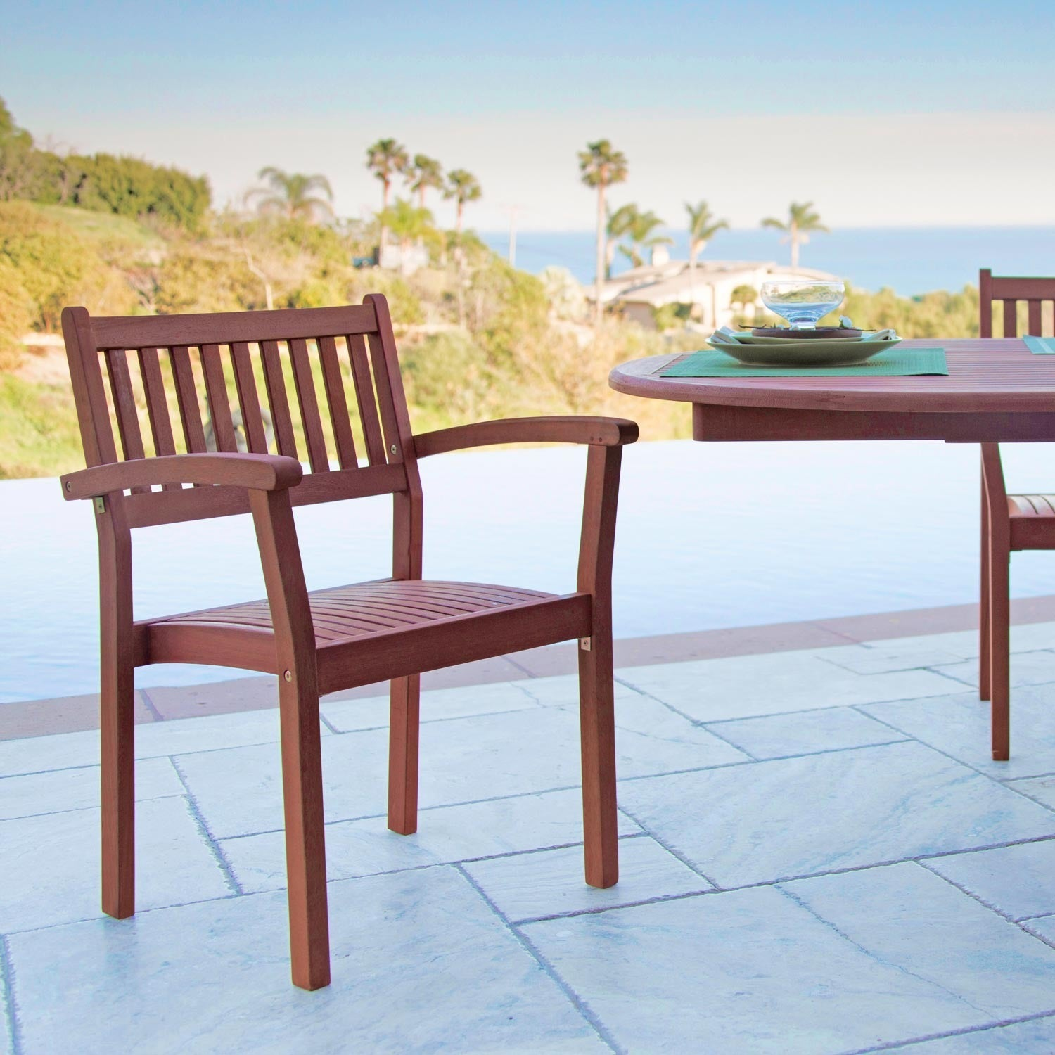 Eco Friendly Wood Stacking Chairs (Set Of 4)