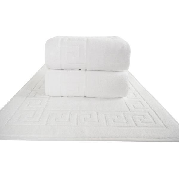 Clic Turkish Towel Greek Key Pattern