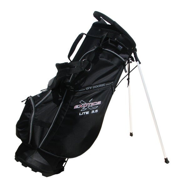 Tour Edge Black Exotics Lite 3.5 Stand Bag