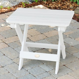 Oliver & James Jacques Eco-friendly Synthetic Wood Folding Side Table (More options available)