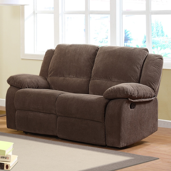 Arista Dark Olive Dual Recliner Loveseat