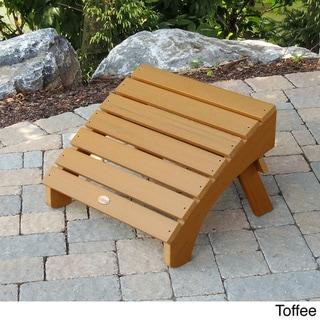 Highwood Eco-Friendly Synthetic Wood Folding Adirondack Ottoman
