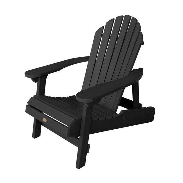 Highwood Eco Friendly Synthetic Wood Folding And Reclining Adirondack Chair