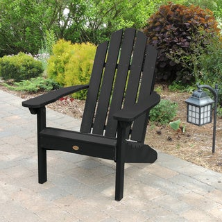 Highwood Eco-friendly Synthetic Wood Classic Westport Adirondack Beach Chair
