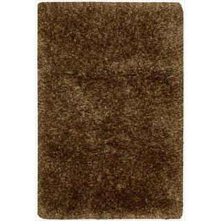 Nourison Style Bright Chocolate Shag Area Rug
