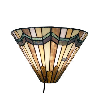 Tiffany Style Arrow Head Wall Sconce