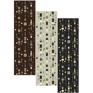 "Admire Home Living Artisan Strings Area Rug Runner - (2'2"" X 7'7"")"