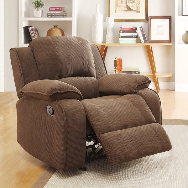 Marcelle Glider Recliner Polyester Chair