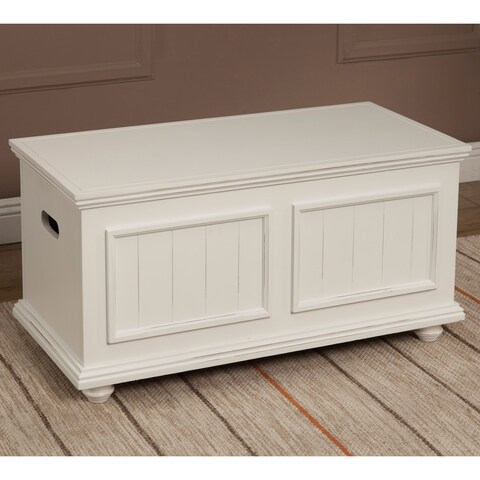 "Notting Hill Storage Trunk Wood Top - 18.75""h x 18""d x 37""l"